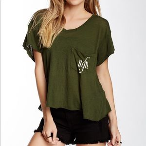 Wildfox Ugh Short Sleeve Tee - size L